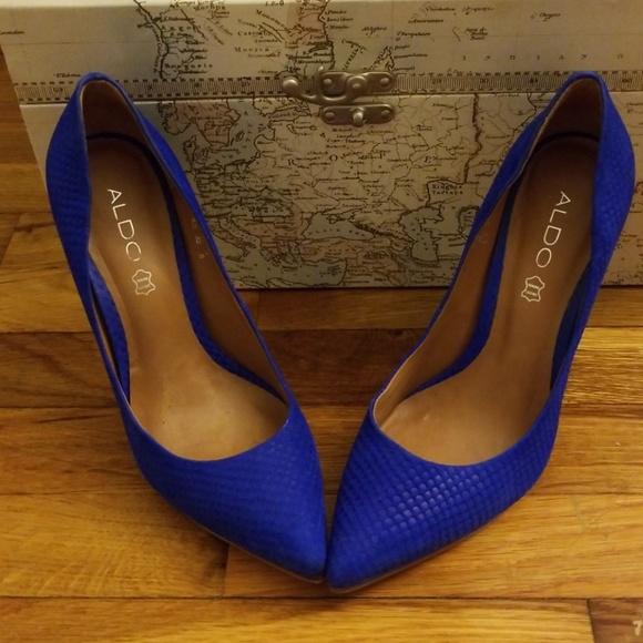 Royal Blue Aldo Kristina shoes